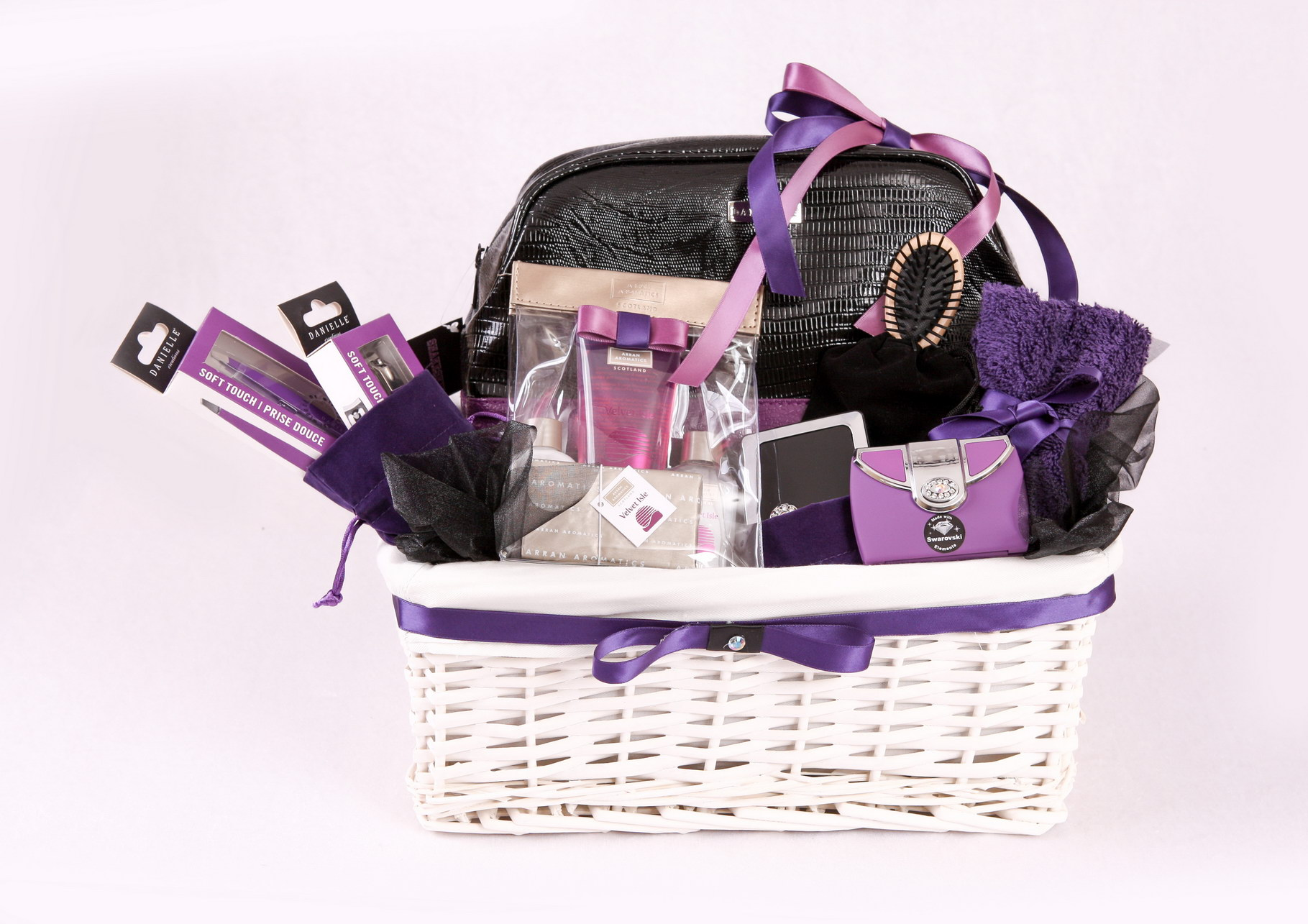 LUXURY PURPLE TOILETRY GIFT SET