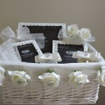 JEWELLED PHOTO FRAME GIFT BASKET