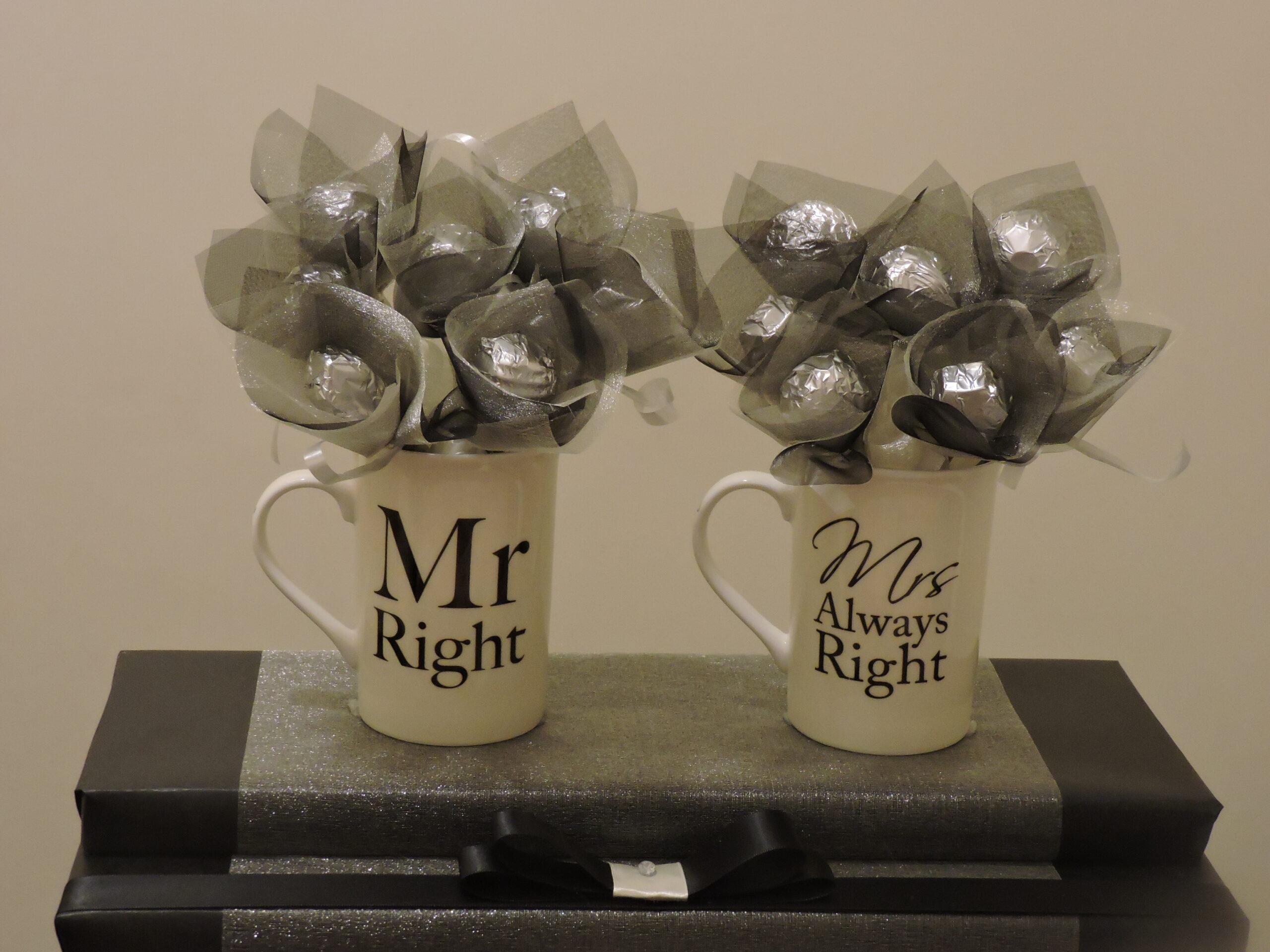Mr & Mrs Mug Bouquet
