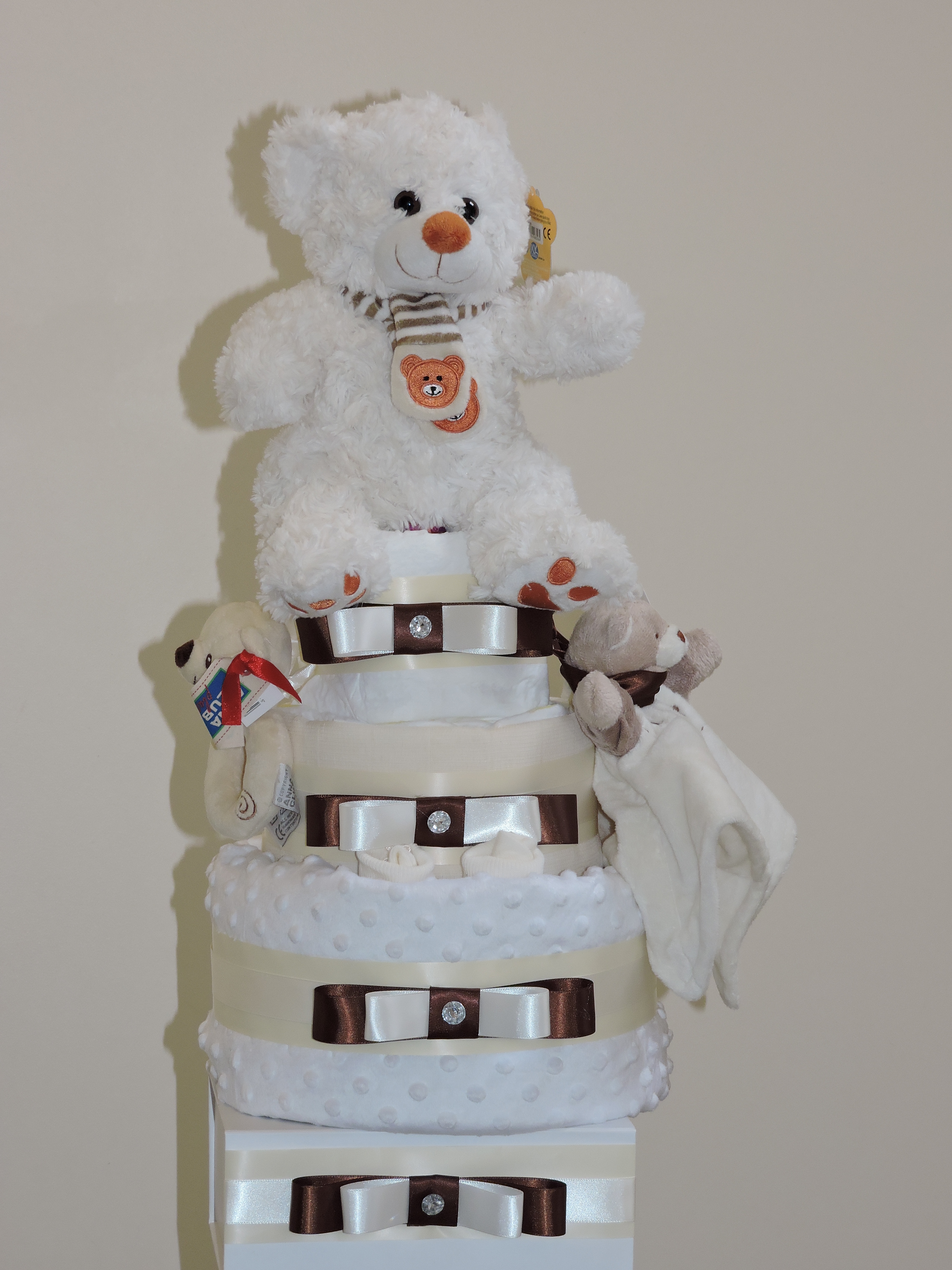 BOBBLE BEAR NAPPY CAKE