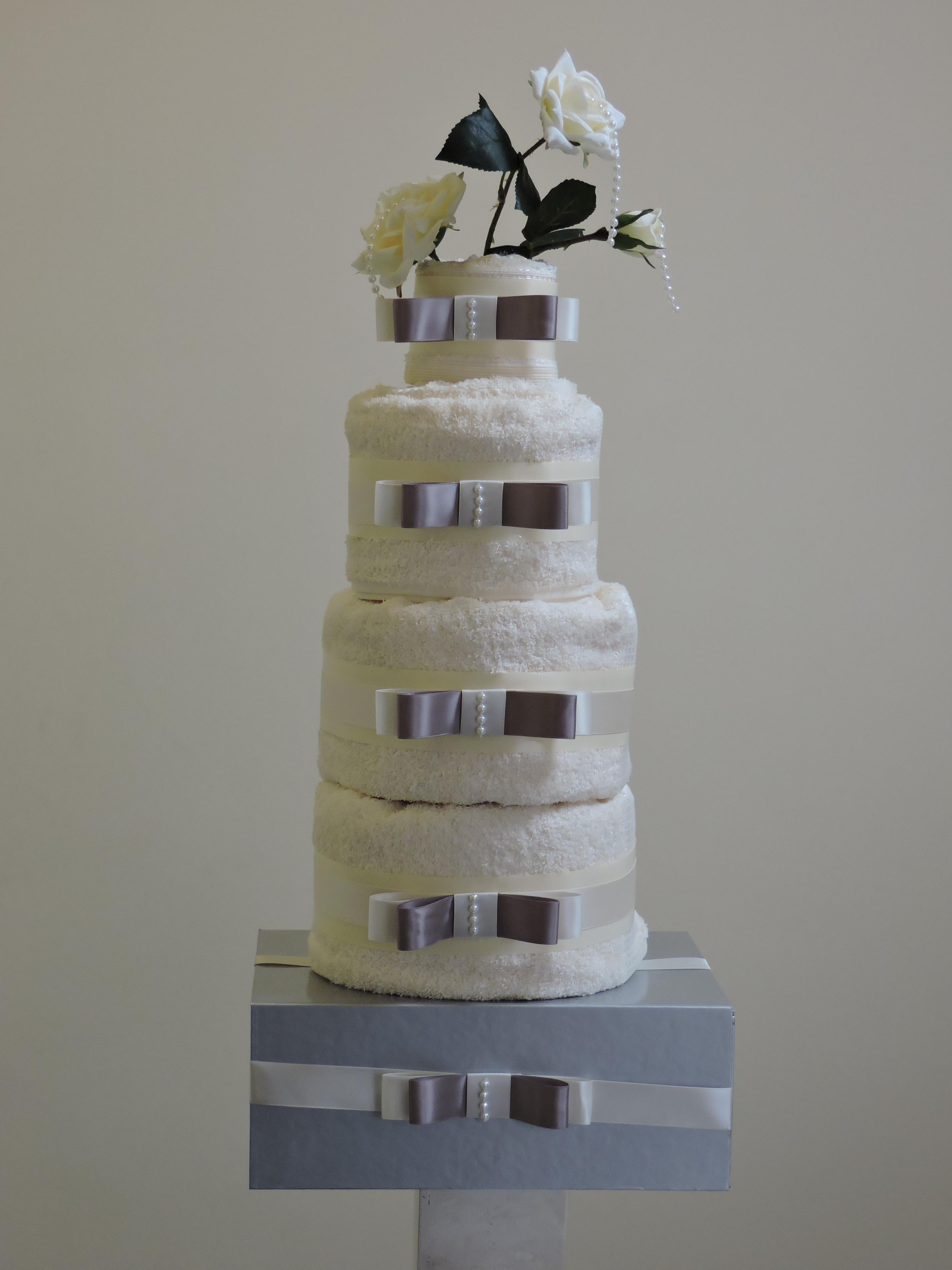 Rose Towel Cake