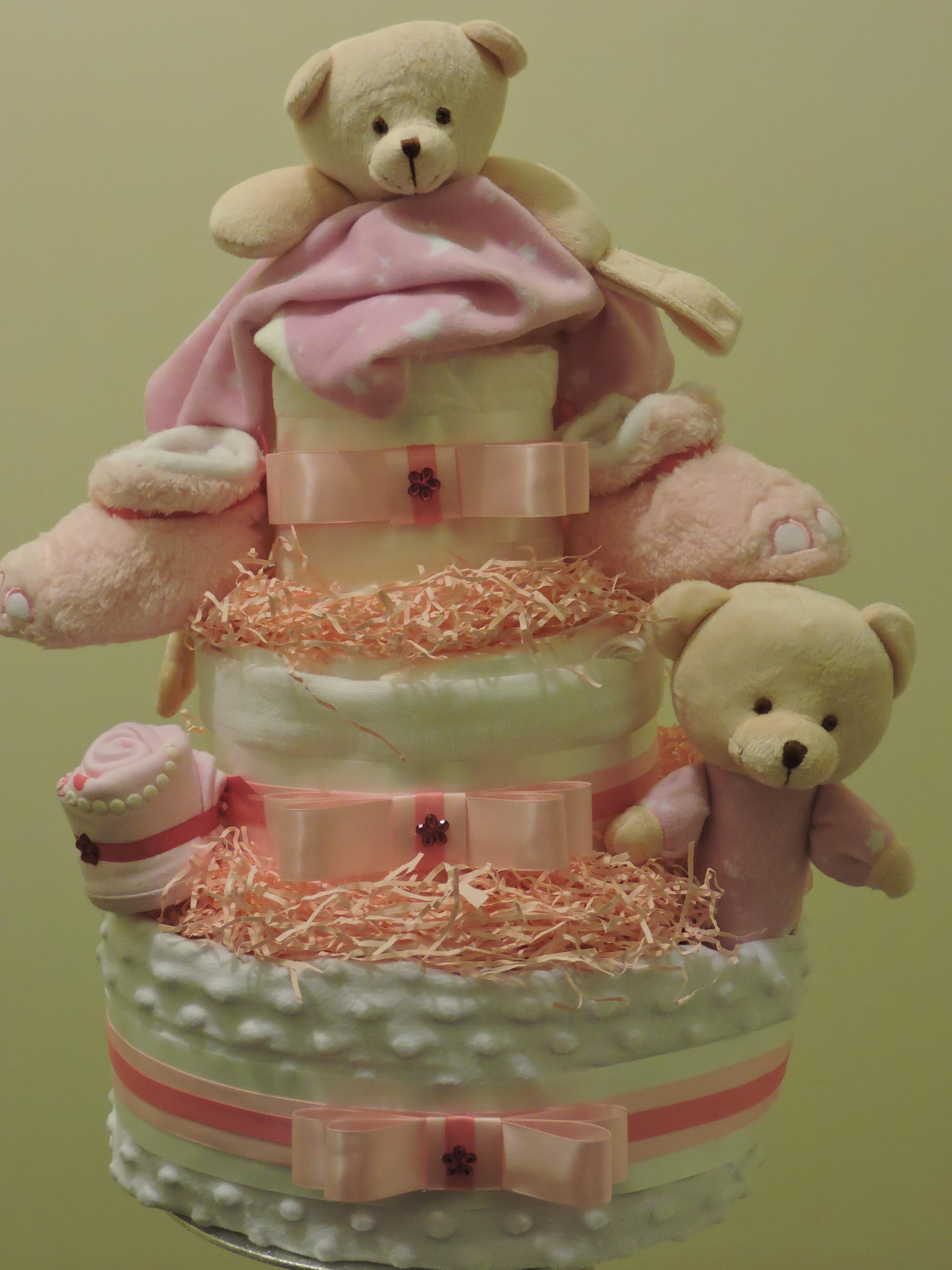 Beary Cute Nappy Cake