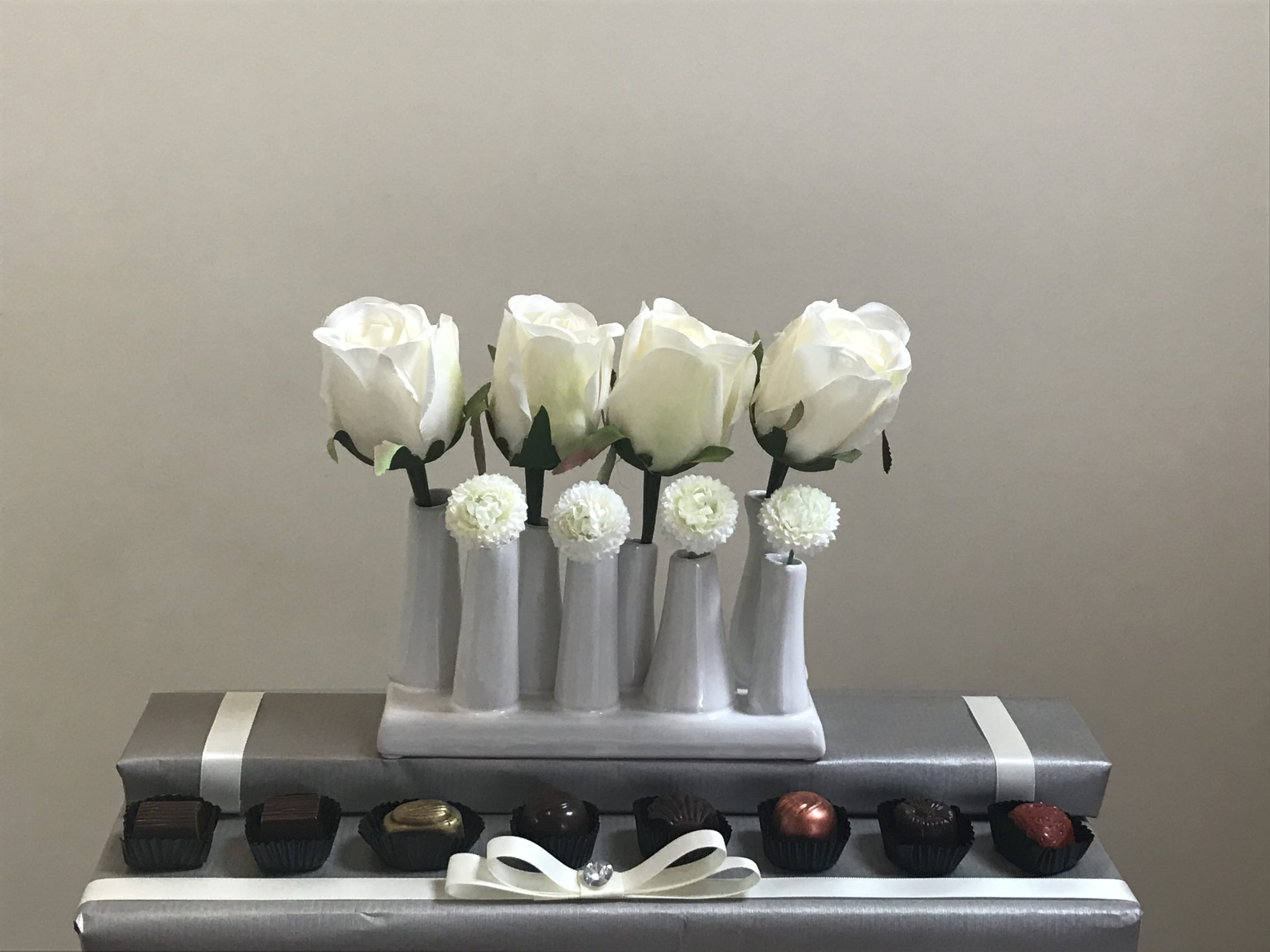 Roses In A Row