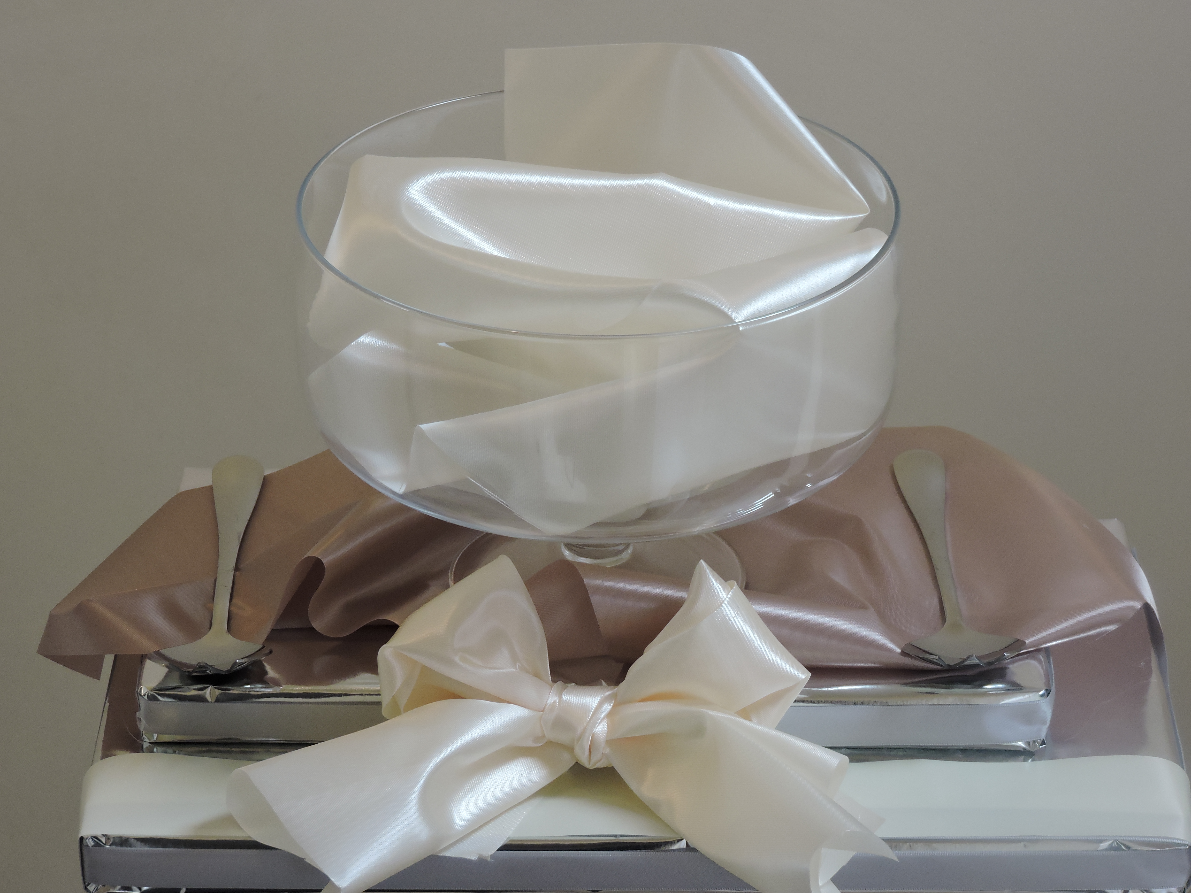 Glass Salad Bowl Gift