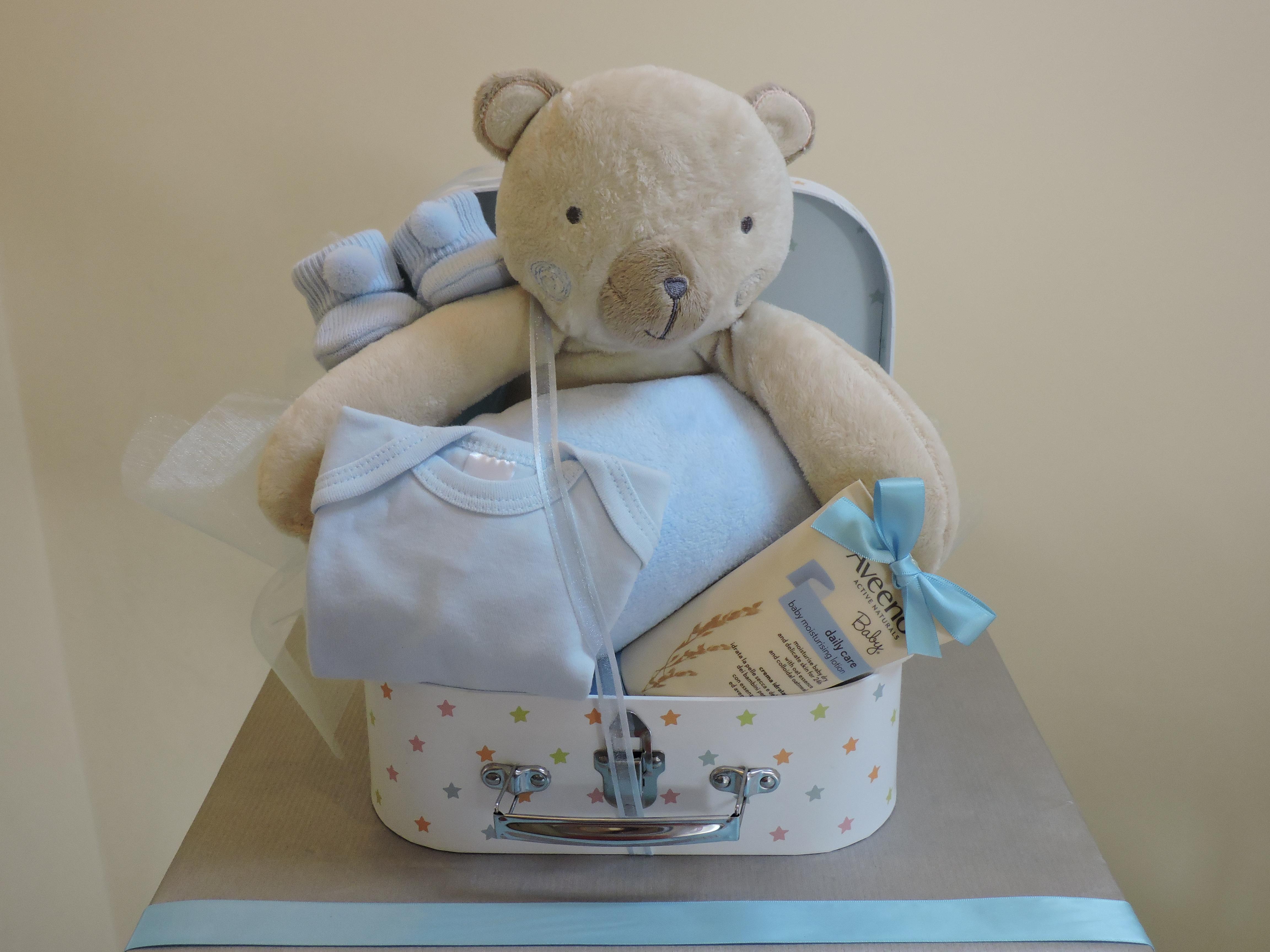 Bear & Blanket Gift
