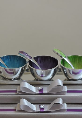 Coloured Enamel Dip Set