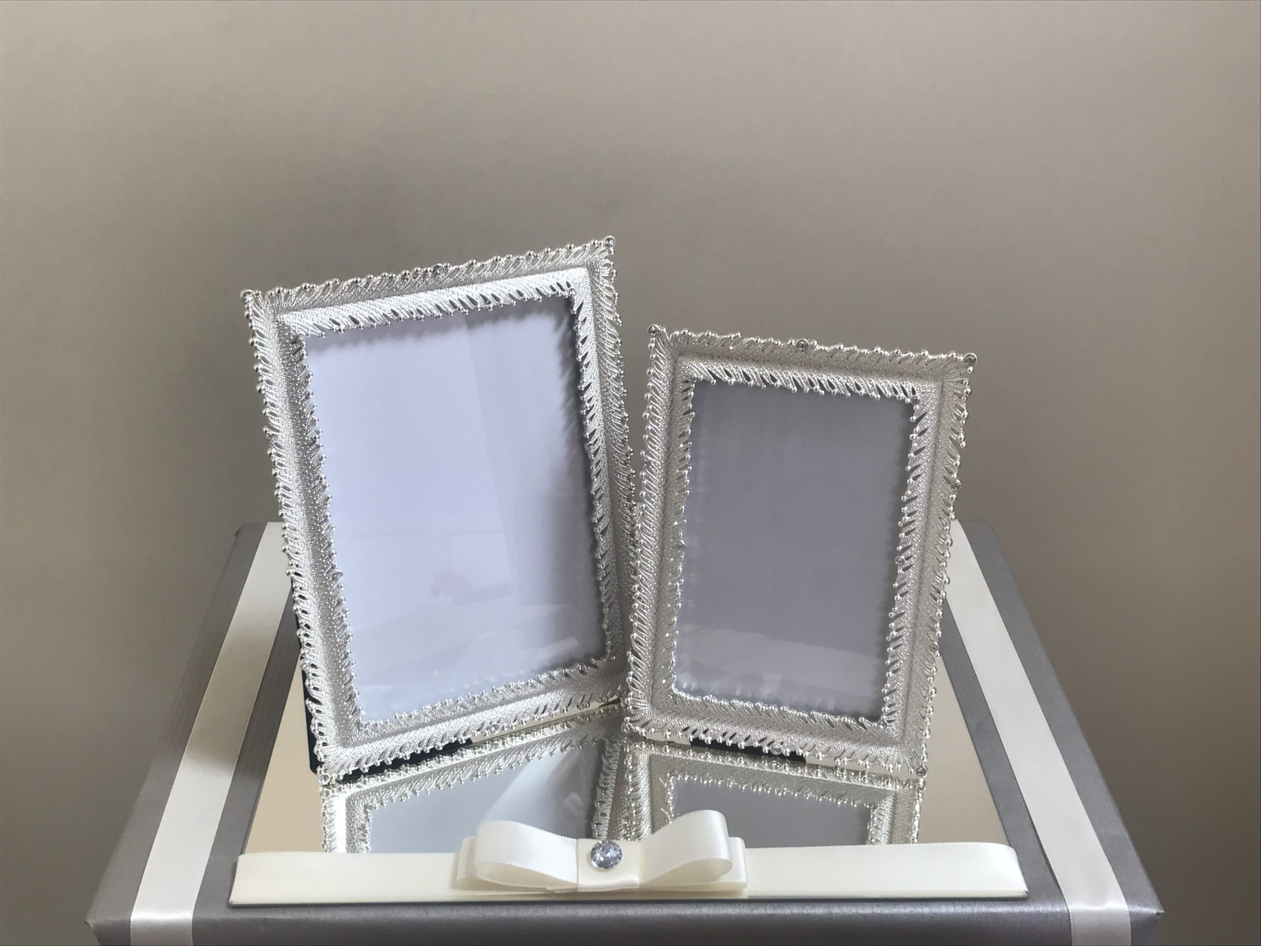 Silver & Diamante Photo Frame Gift