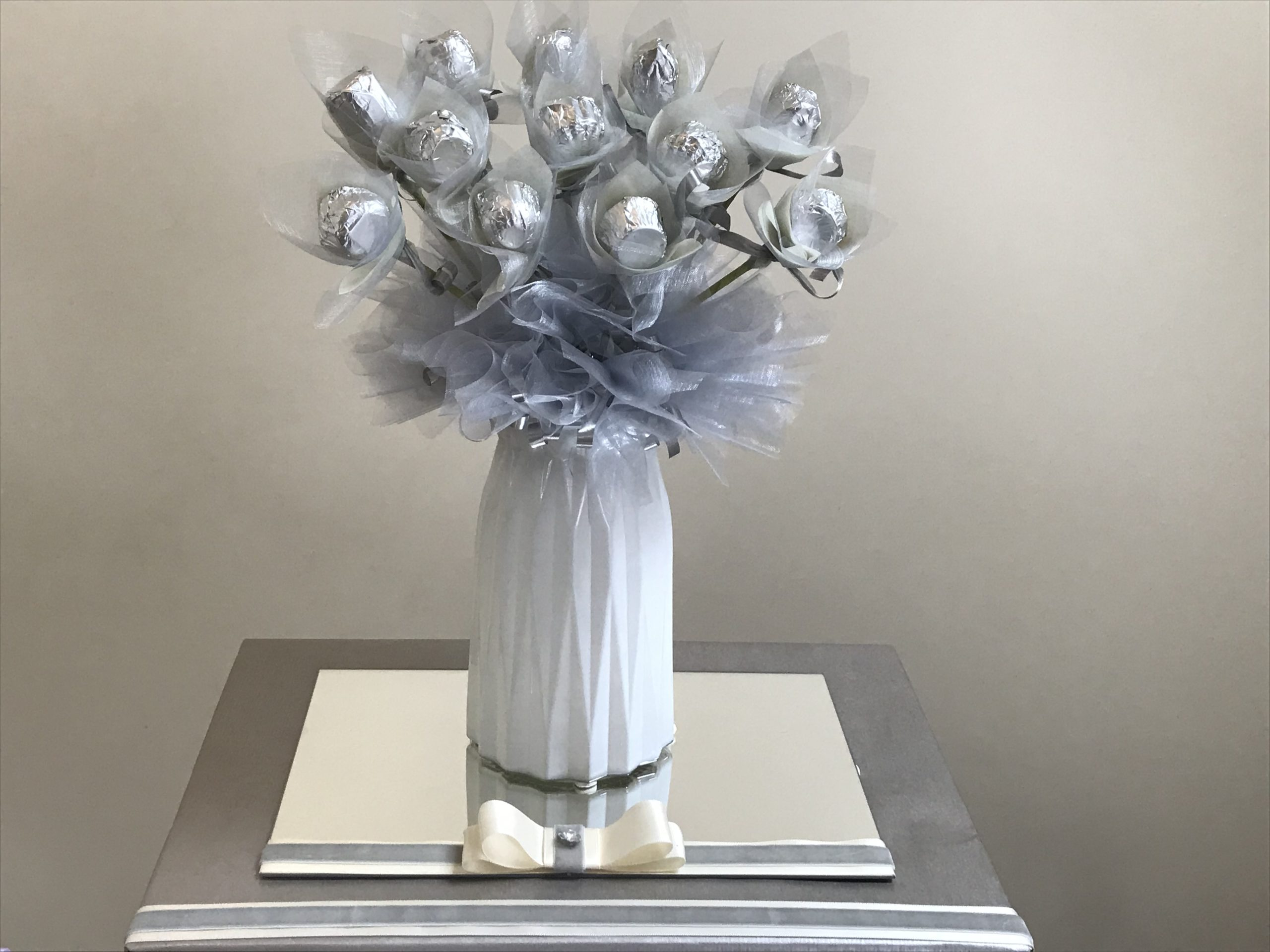 White & Silver Bouquet