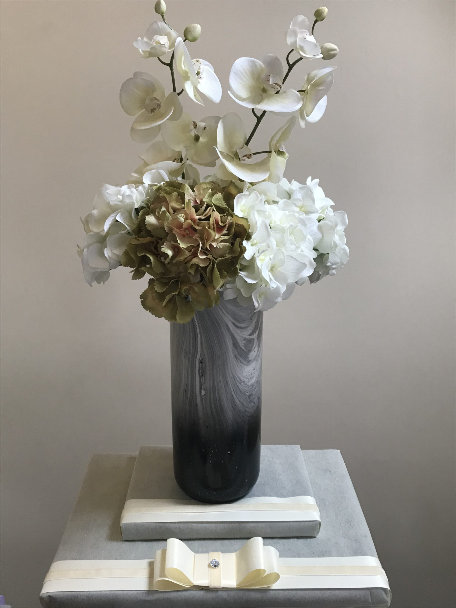 Hydrangea & Orchid Arrangement 2