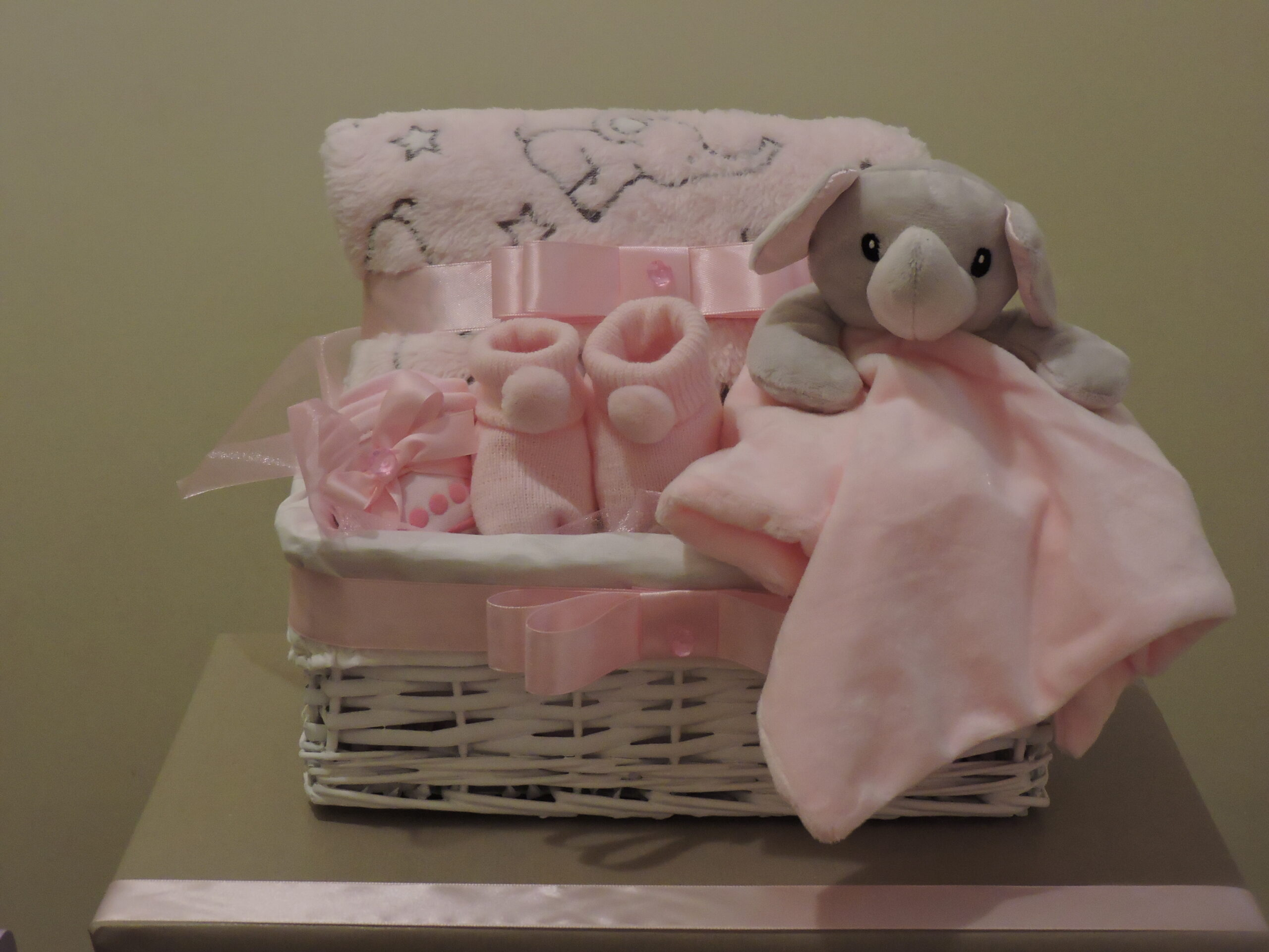 Elephant in a basket