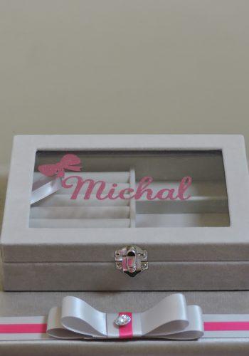 Personalised Velvet Jewellery Box